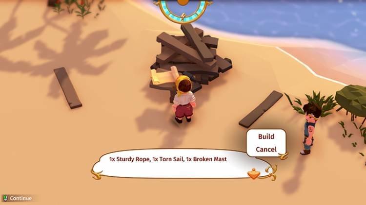 Stranded Sails (2019), RPG Survival dengan sentuhan Western Chibi