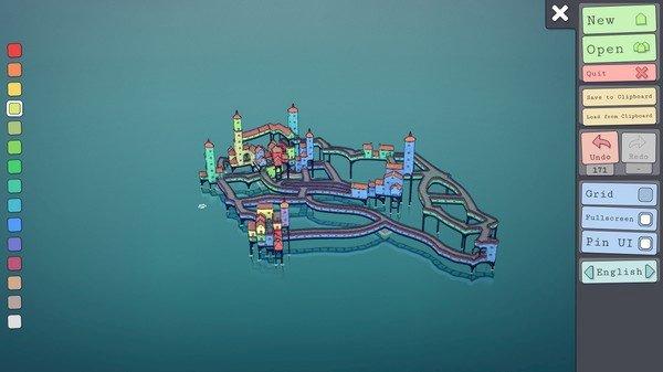 Townscaper (2020)