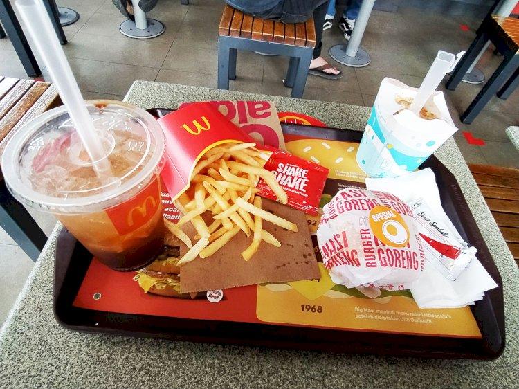 McDonald's Burger Nasi Goreng Mamang-mamang