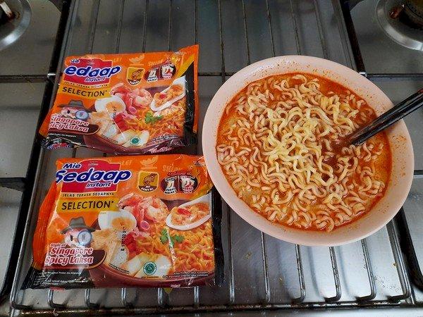 Mie Sedap Rasa Singaporean Spicy Laksa